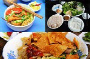 Ba món ăn trưa nhẹ bụng ở Đà Nẵng