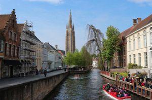 """Đắm đuối với """"Venice phương Bắc"""" đẹp ngỡ ngàng ở vương quốc Bỉ"""