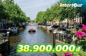 Vi vu tour châu Âu qua 4 quốc gia giá cực rẻ