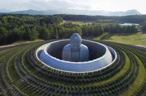 Choáng ngợp trước đồi tượng Phật khổng lồ ở Nhật Bản