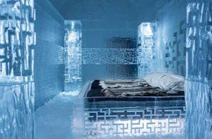 Lạnh tê tái trong khách sạn băng giá ở Thụy Điển