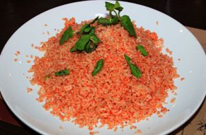Đậm đà cơm chiên muối ớt Nha Trang