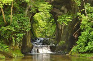Khám phá khe suối đẹp như chốn thần tiên ở Nhật