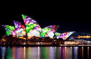 Tour Úc lễ hội Ánh sáng giá cực sốc