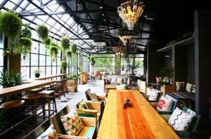 Quán cà phê ngập tràn cây xanh ở Hà Nội
