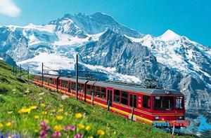 Tham quan Ý, Thụy Sĩ, Pháp bằng đường sắt