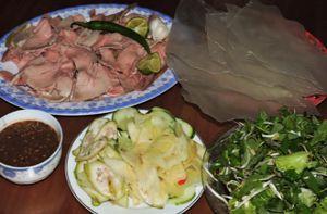 Đi ngang Quảng Nam nhớ ghé ăn bê thui Cầu Mống