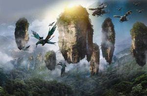 """Chinh phục núi bay có thật trong siêu phẩm """"Avatar"""""""
