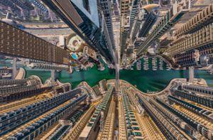 Choáng ngợp vẻ đẹp Paris, New Delhi, Dubai... từ trên cao