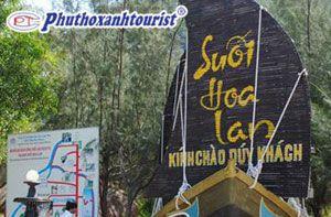 Tour Nha Trang - White Sand - Suối Hoa Lan