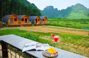 Có một nơi trốn xô bồ náo nhiệt lý tưởng ở Quảng Bình