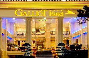 Khách sạn Galliot tọa lạc tại khu phố Tây
