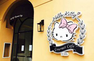 Quán cà phê dành cho tín đồ Hello Kitty