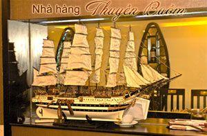 Nhà hàng Thuyền Buồm chuyên các món đặc sản