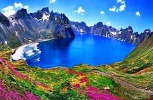 Điêu đứng trước vẻ đẹp 10 hồ núi lửa đẹp ngất ngây