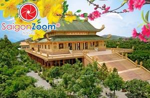 Tour hành hương 10 cảnh chùa Vũng Tàu Tết 2016