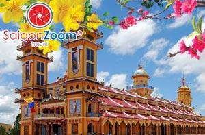 Tour Tây Ninh - Núi Bà Đen 1 ngày Tết Nguyên Đán 2015