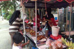 Ao Nang và những bữa sáng trên đường phố