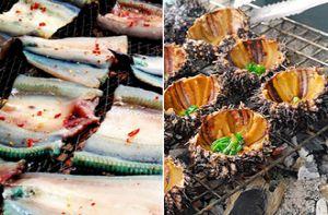 10 món ăn đậm chất miền biển trên đảo Nam Du