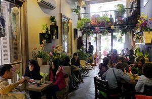 Những quán cà phê độc đáo cho cuối tuần ở Hà Nội